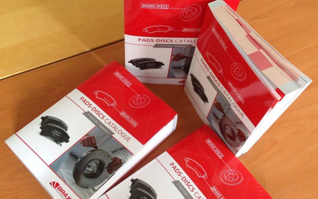 Chassis Brakes International sort son 1er catalogue avec la solution PIM nextPage©