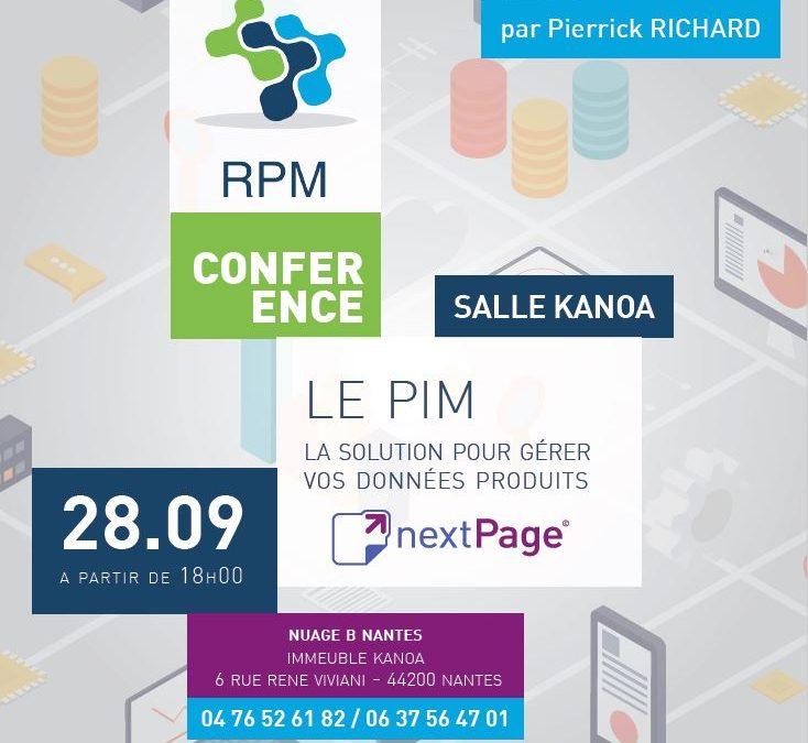 Conférence : le PIM, la solution pour gérer vos données produits marketing
