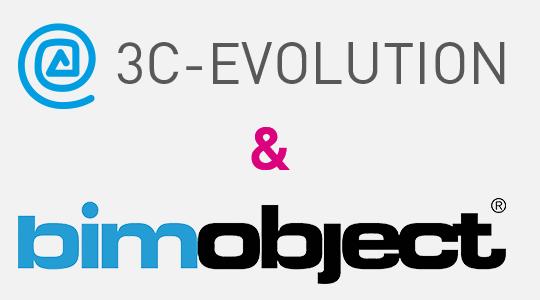 3C-EVOLUTION et BIMobject® confirment leur partenariat