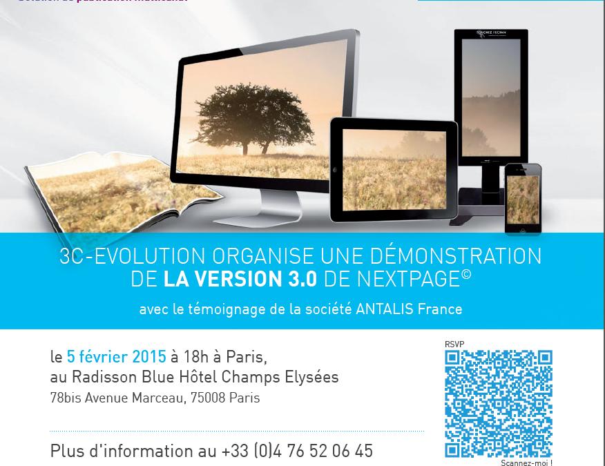 Présentation nextPage© le 5 février 2015 à Paris