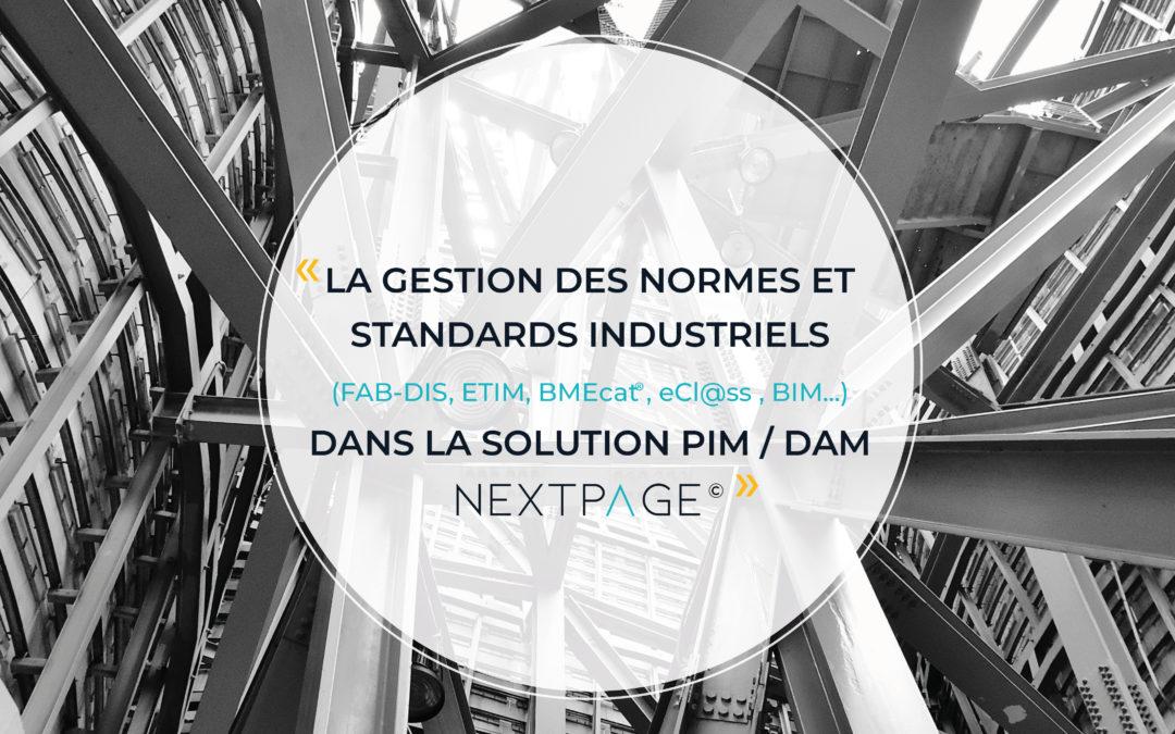 PIM, ETIM, FAB-DIS, normes, standards, échanges de données…