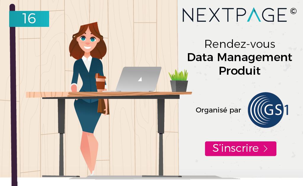 3c-evolution sera présent au Rendez-vous du Data Management Produit avec la solution NEXTPAGE©.