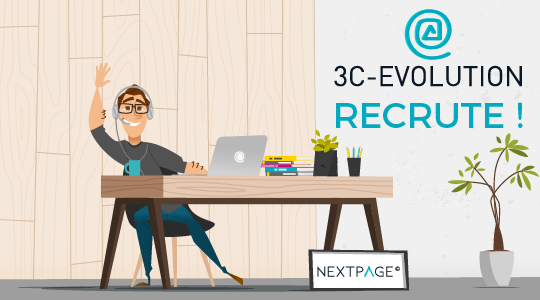 3C-EVOLUTION continue à recruter